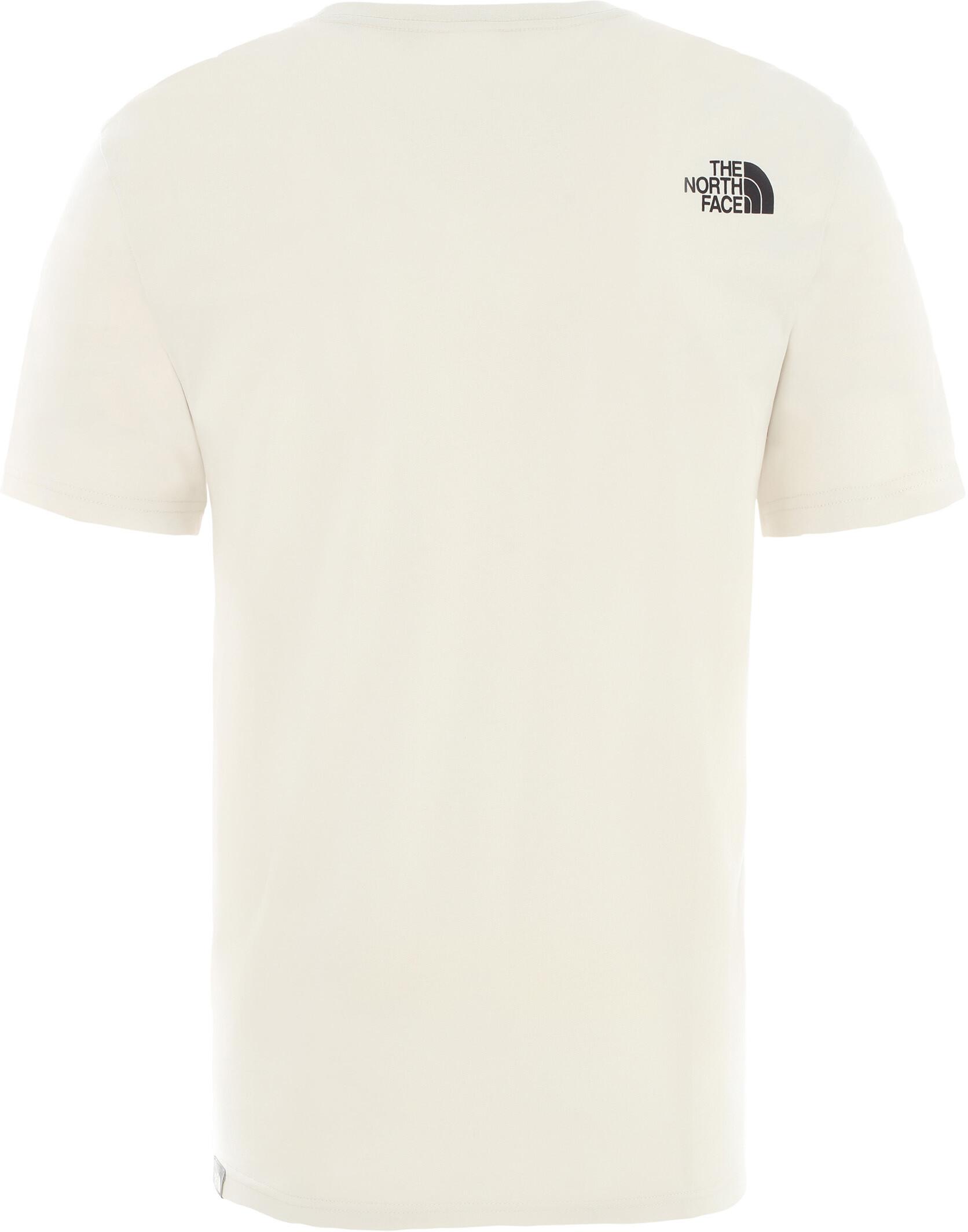 The North Face Rust 2 Koszulka z krótkim rękawem Mężczyźni, vintage white/tnf black (2020)